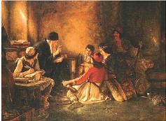 Το «Κρυφό Σχολειό», πίνακας του Νικολάου Γύζη, 1886