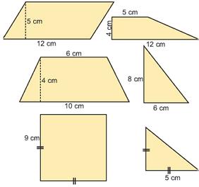 B1.3: Εμβαδά επίπεδων σχημάτων